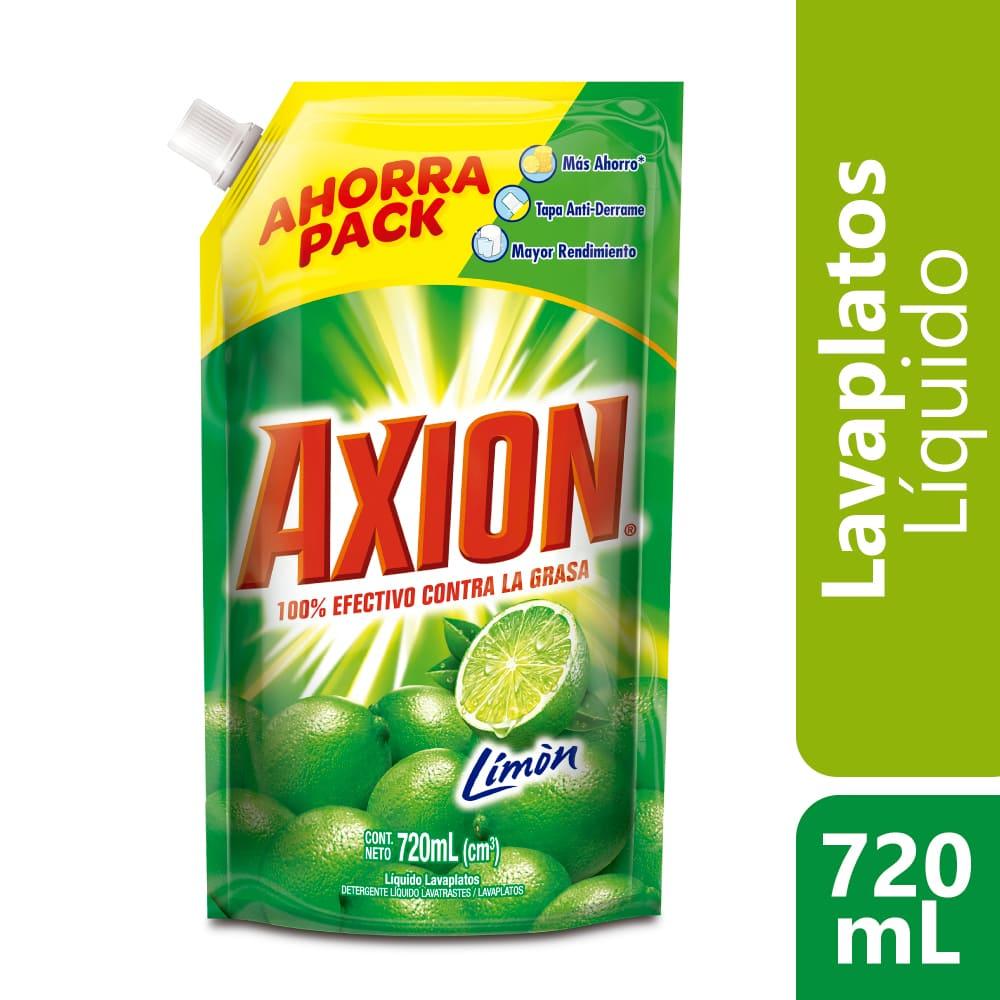 Lavaplatos Axión Limón Líquido 720 Ml