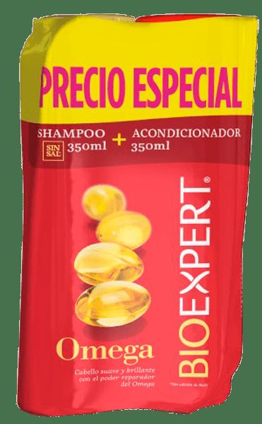 Shampoo Bioexpert 350Ml + Acondicionador 350Ml Omega $ Espe
