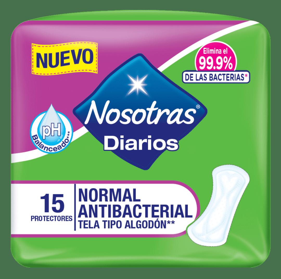 Protector Nosotros Diarios Antibacterial 15 Und