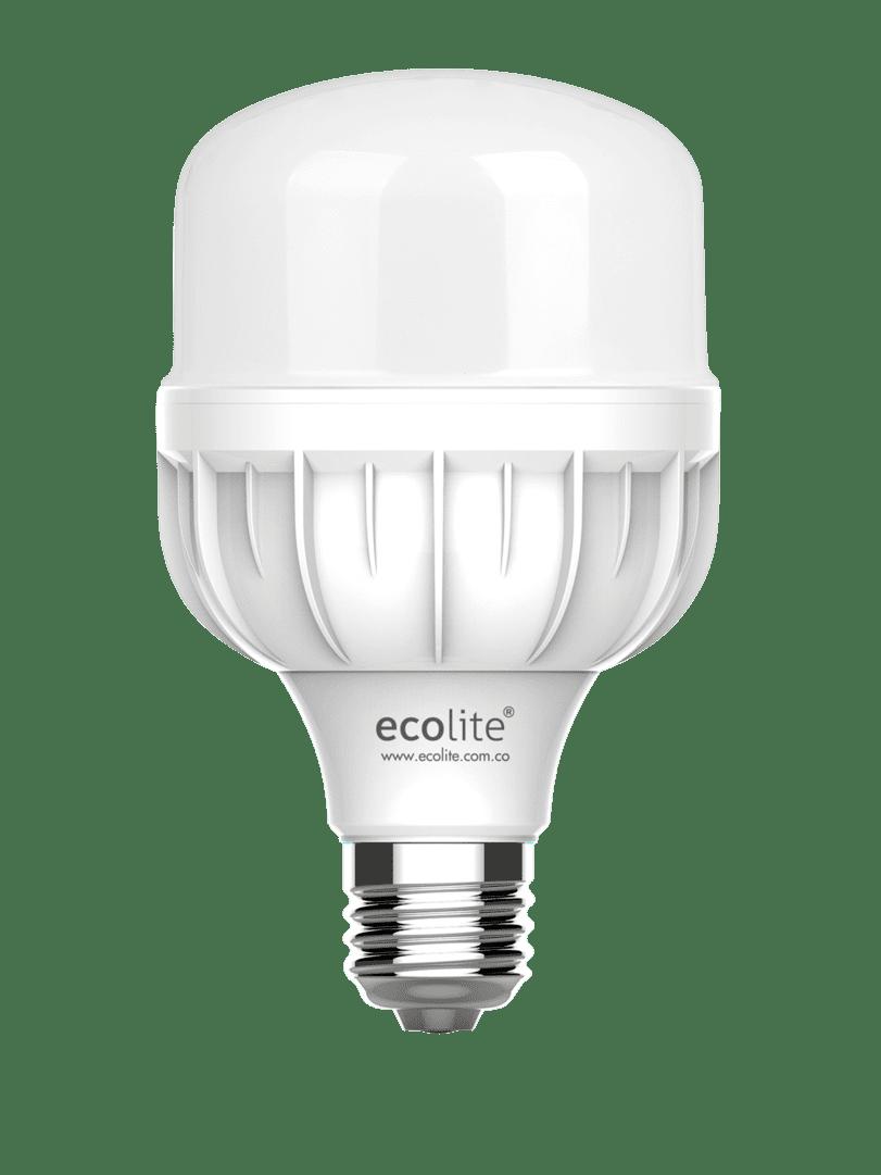 Bombillo Led Ecolite Luz Blanca 20W