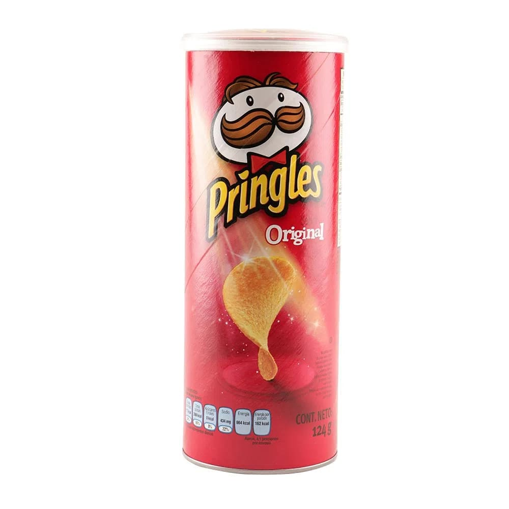 Papas Pringles Original 124 Und