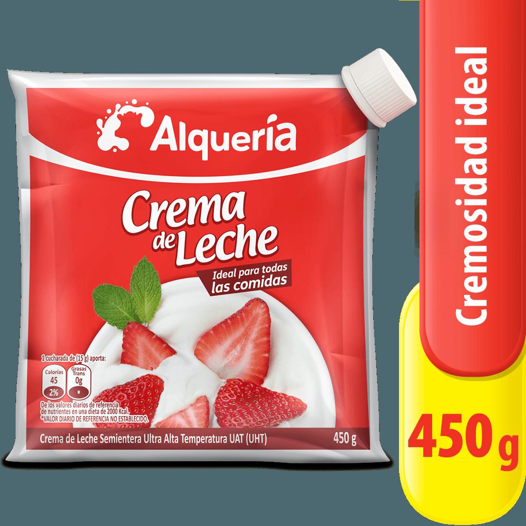 Crema De Leche Alquería Bolsa 450 G
