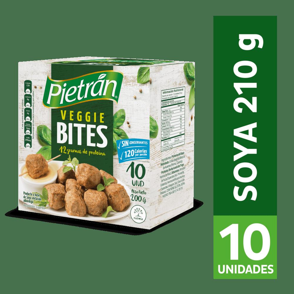 Veggie Bites Pietran De Soya