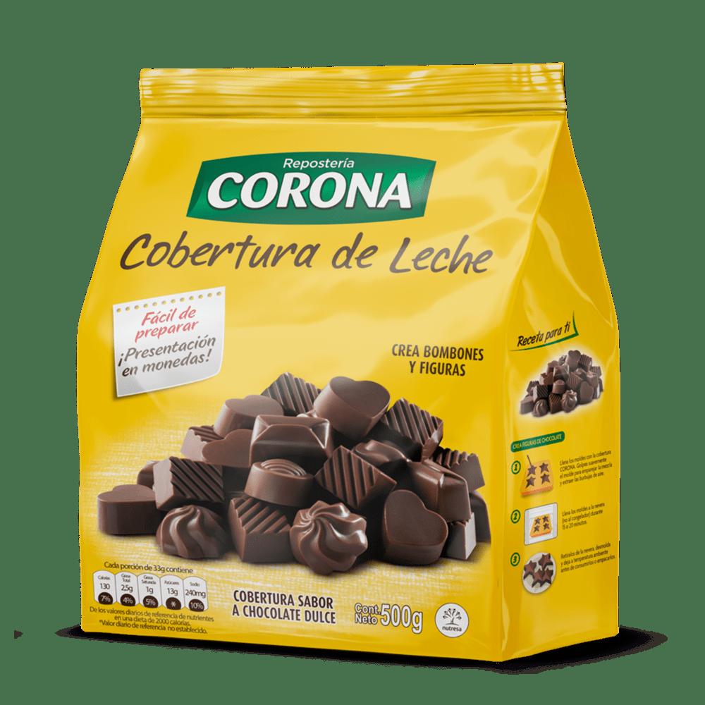 Cobertura De Chocolate Corona Doypack 500 G