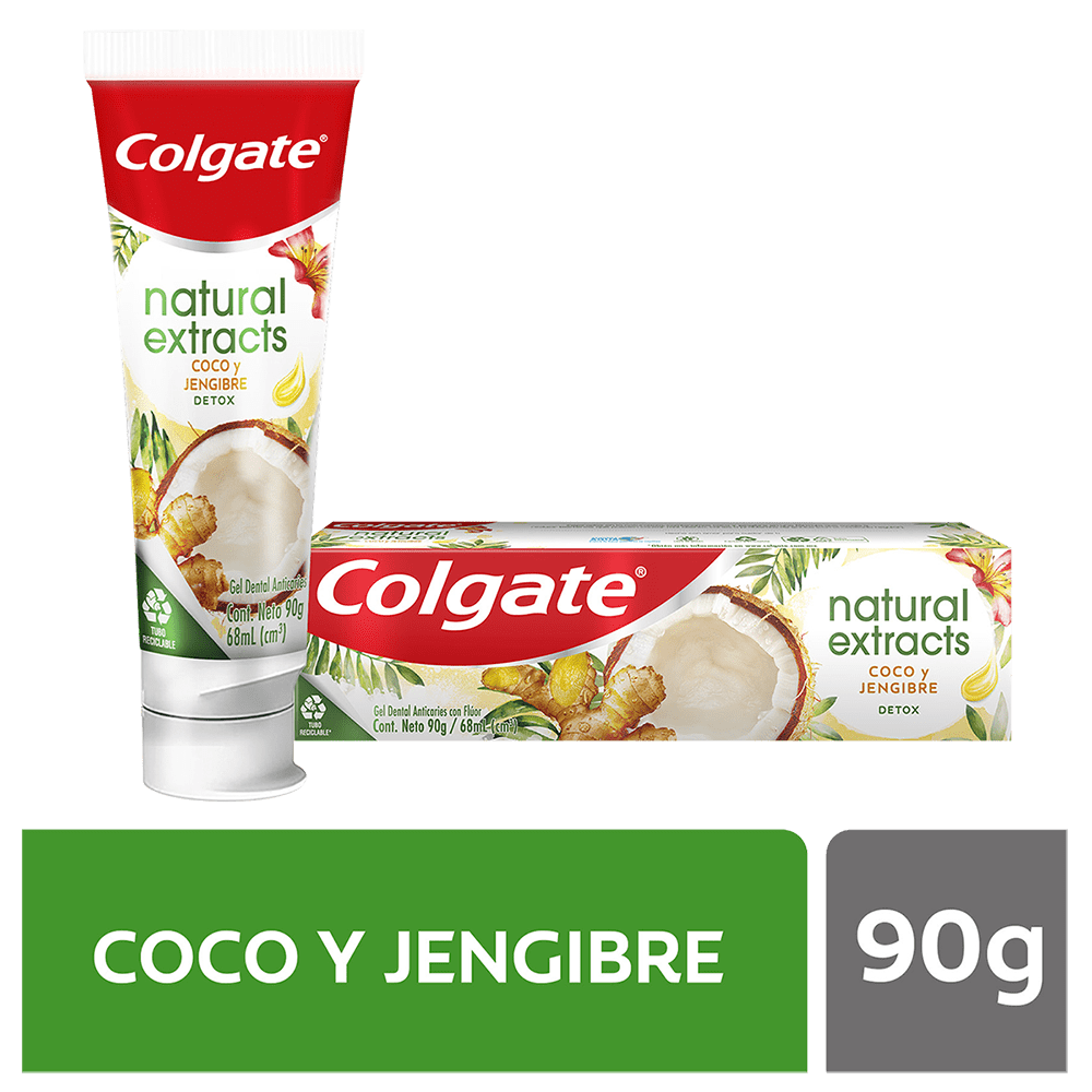 Crema Colgate Naturals Detox 90 G