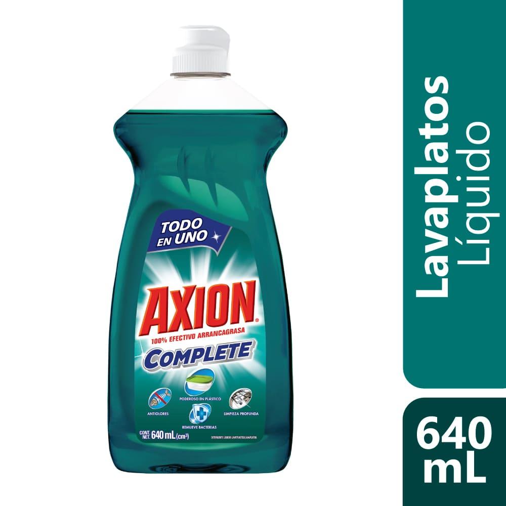 Lavaplatos Axión Complete Plásticos Líquido 640 Ml