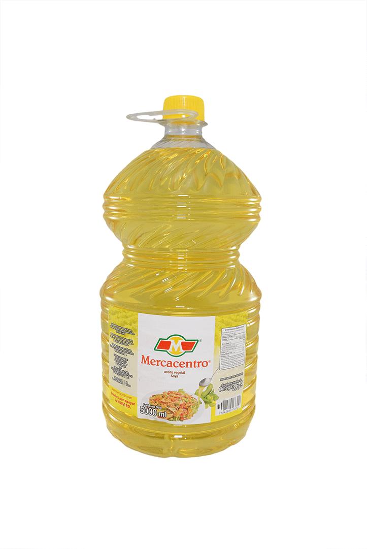 Aceite Mercacentro Soya 5000 Ml