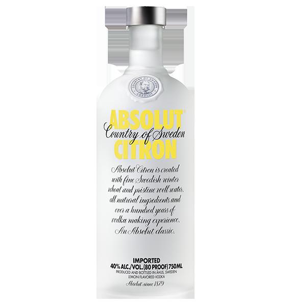 Vodka Absolut Citron 700Ml