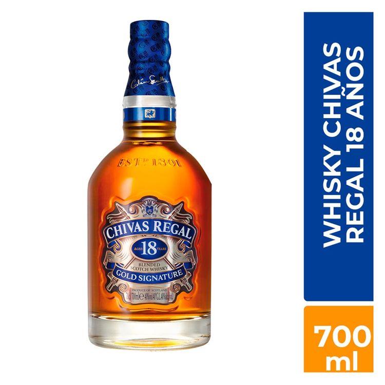 Whisky Chivas Regal 18 Años 700 Ml