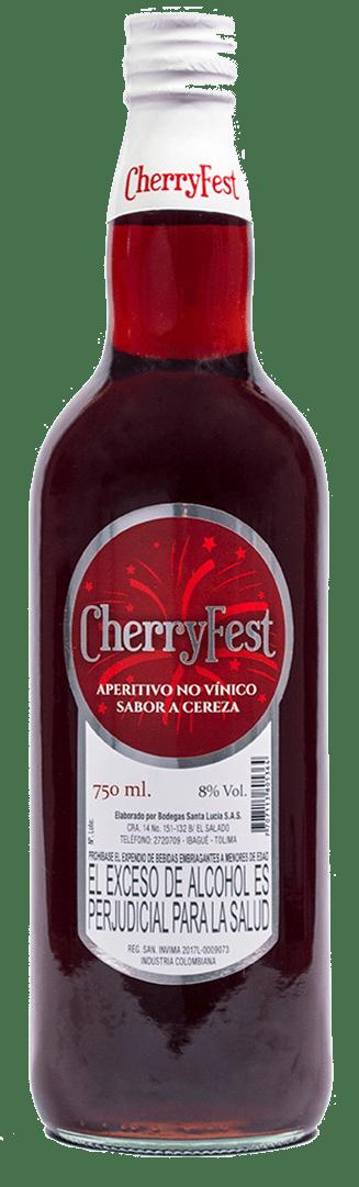 Aperitivo Cherryfest Santa Lucia 750 Ml