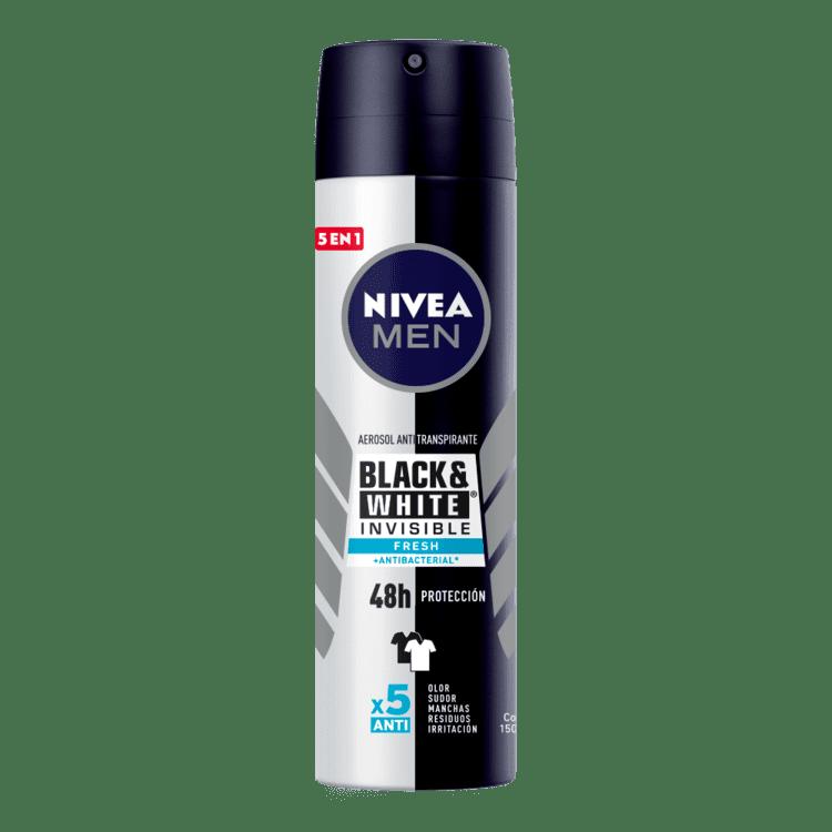 Desodorante Nivea Men Fresh Aerosol Black&White 150 Ml