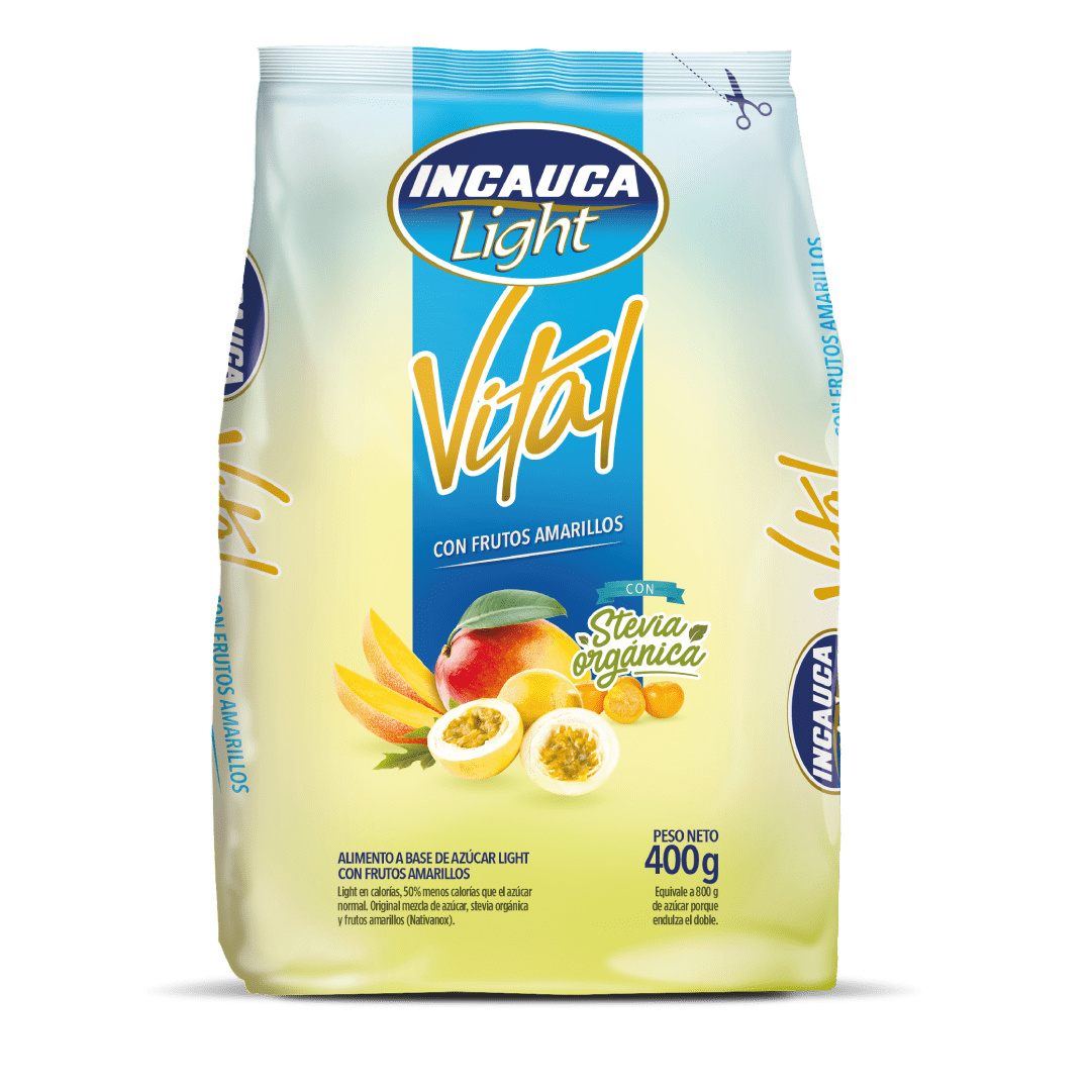 Azúcar Incauca Light Vital Bolsa 400 G