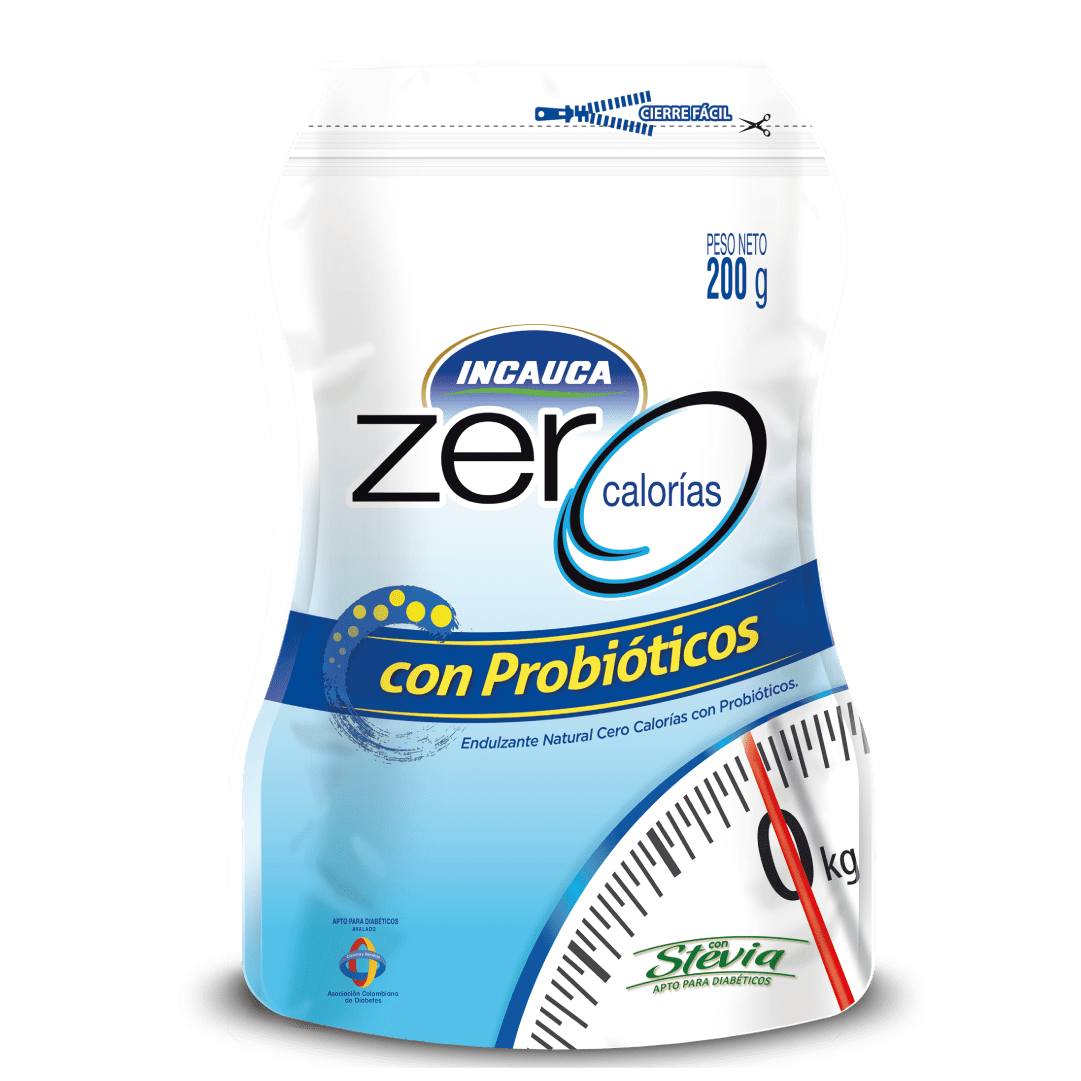 Azúcar  Incauca Zero Probióticos 200 G
