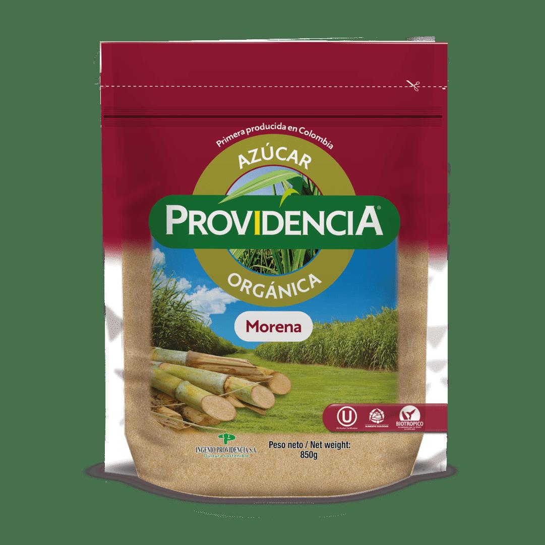Azúcar Providencia Orgánica Morena 850 G