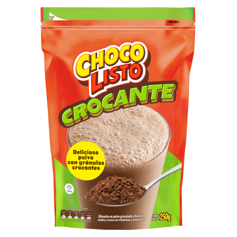 Chocolisto Crocante Doy Pack 250 G
