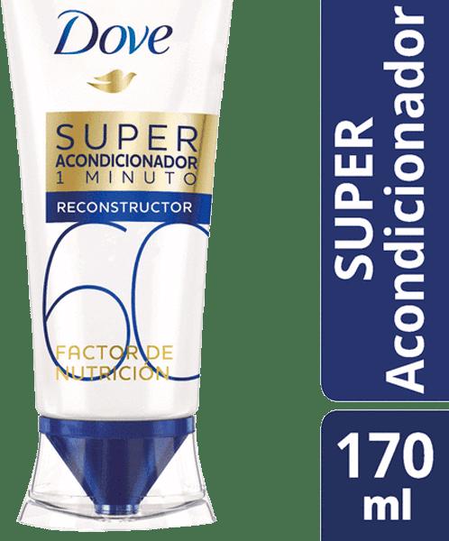 Acondicionador Dove 3 Min Factor 60 Nutrición 170 Ml