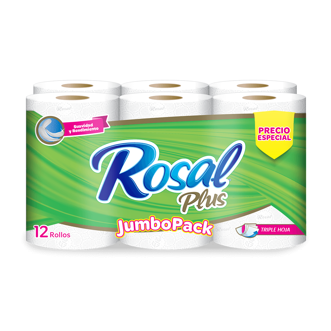 Papel HigiÉnico Rosal Jumbopack X 12 Und