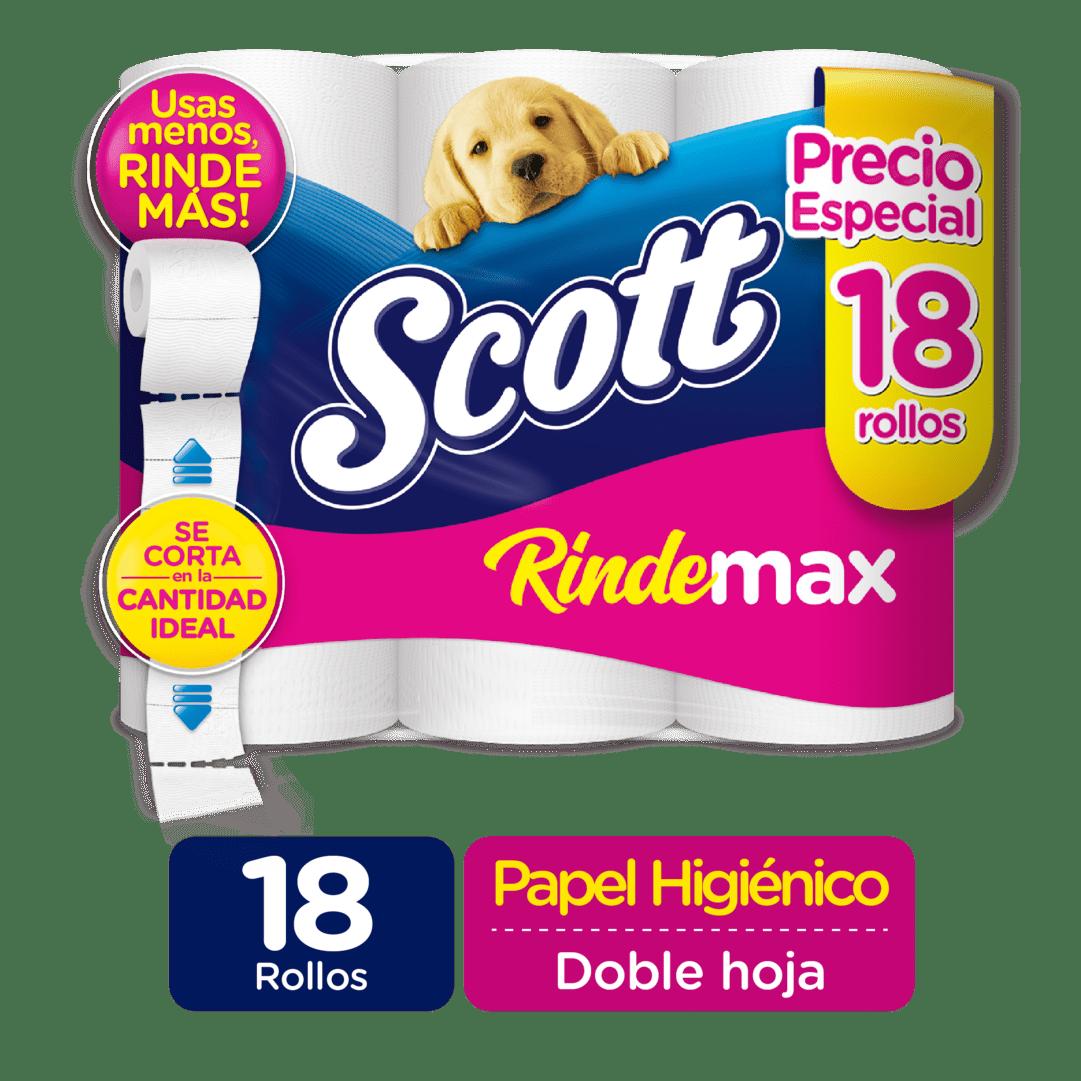 Papel Scott Rindemax Doble Hoja X 18Und 504 M