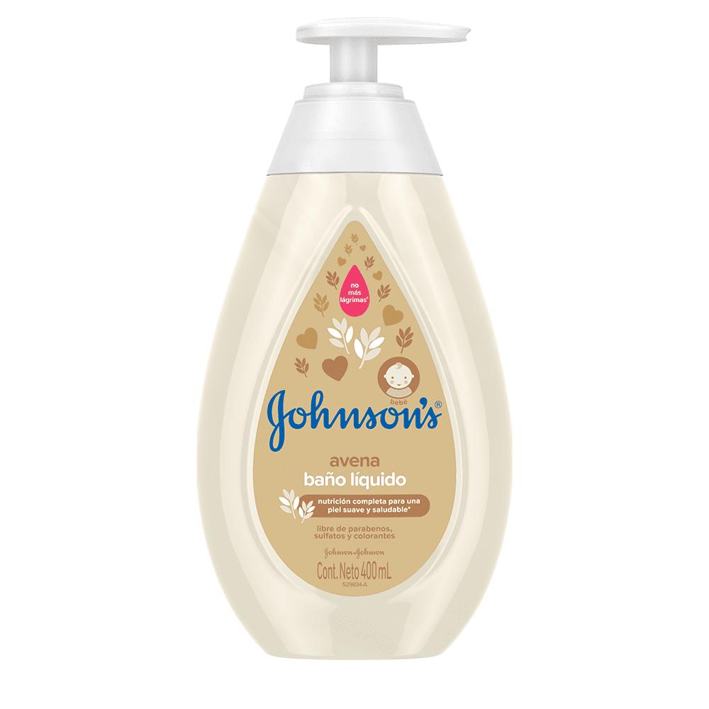 Jabón Johnson Baby Líquido 400 Ml Avena