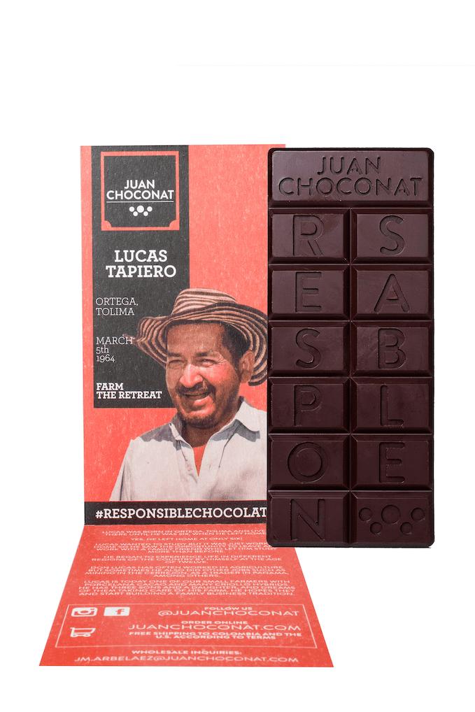 Chocolatina Juan Cochonat Con Caf 65 G