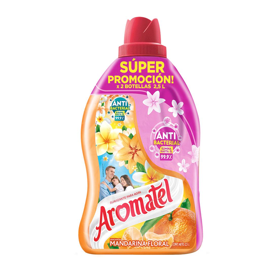 Suavizante Aromatel Mandarina 2X 2500 Ml
