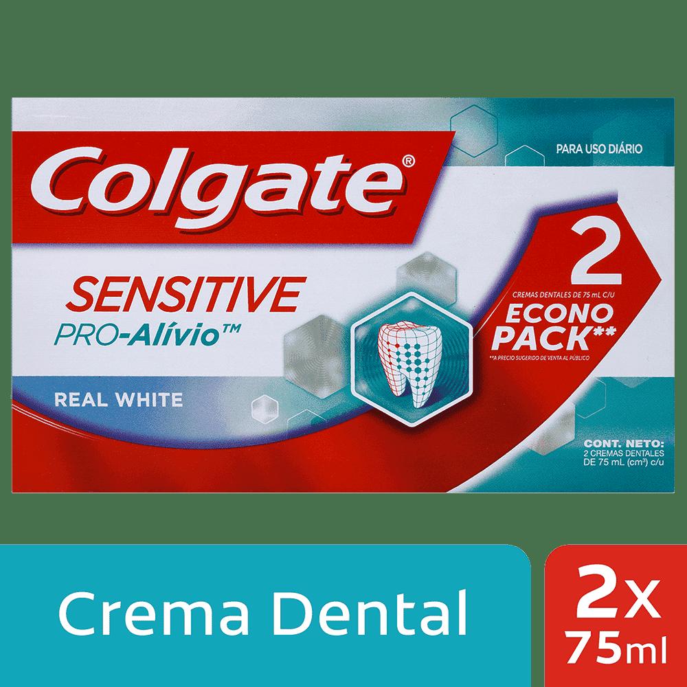 Crema Colgate Sensitive White 2X75 Ml Pro Alivio