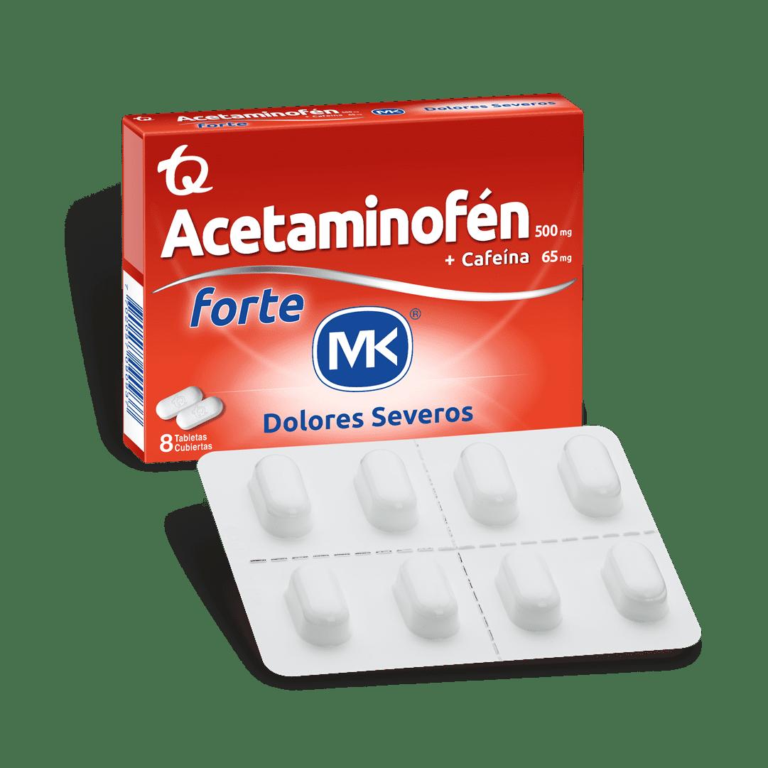 Acetaminofen Forte Mk 8 Und