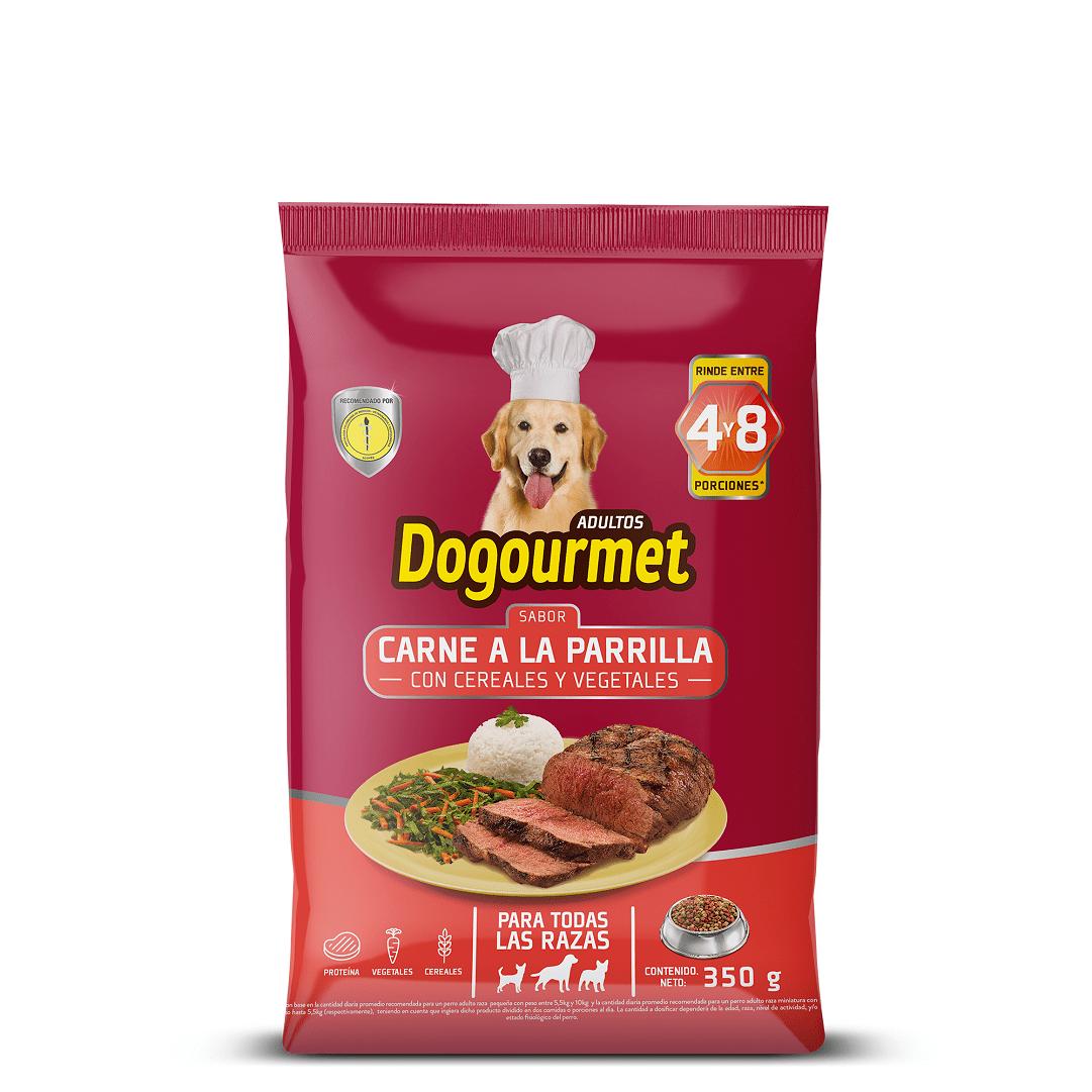Dogourmet Carne A La Parrilla Adulto 350 G