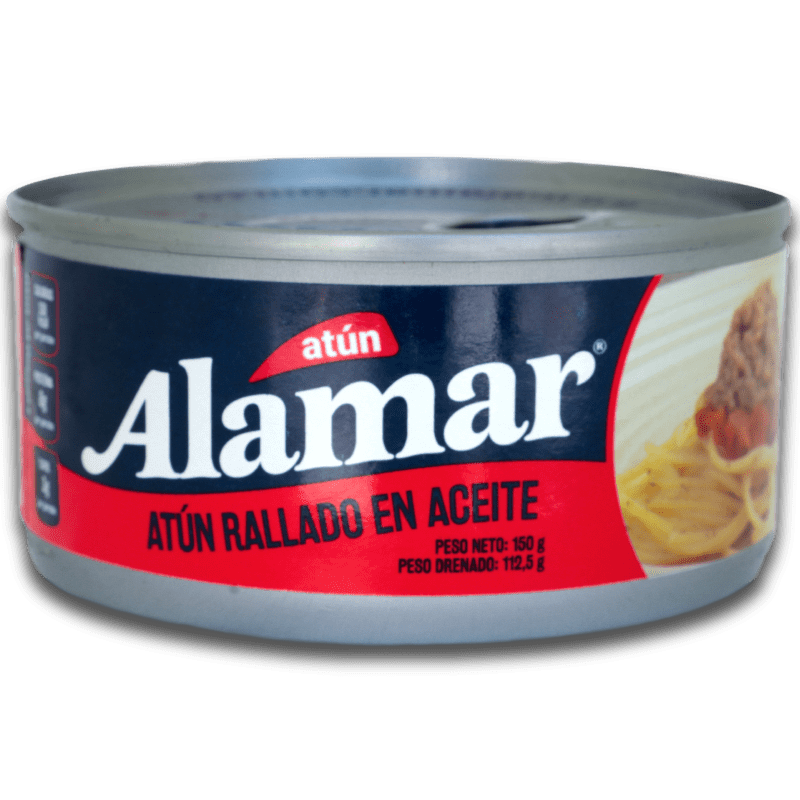 Atún Alamar Mezclaya Aceite 150 G