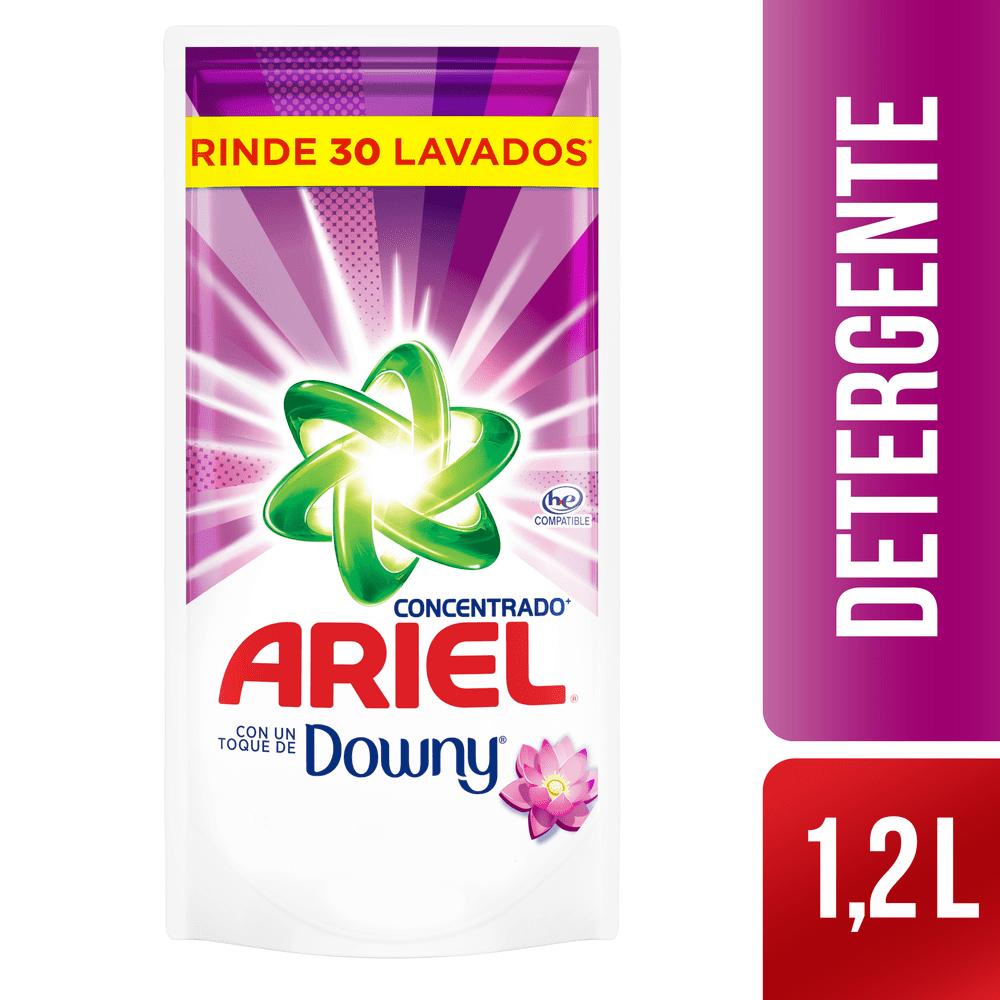 Detergente Ariel Líquido 1200 Ml Suavizante Doypack