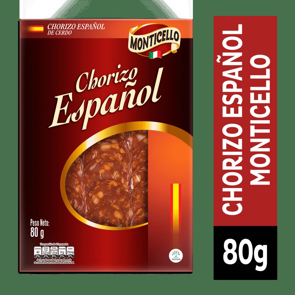 Chorizo Español Monticello 80 G