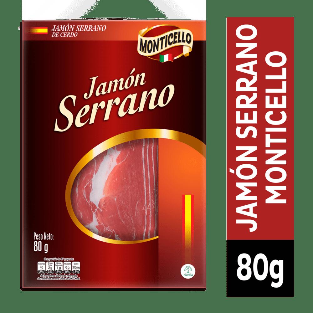 Jamón Serrano Monticello