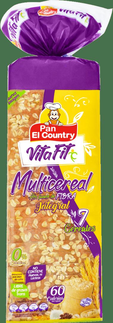 Pan El Country Multicereal Tajado 560 G