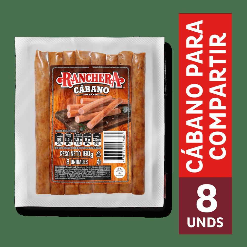 Cábano Ranchera Zenu 160 G