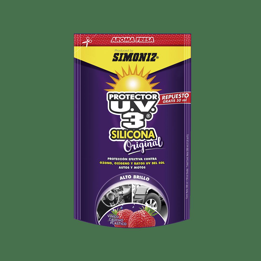 Silicona Simoniz Uv3 Fresa Doypack 300 + 50 Ml