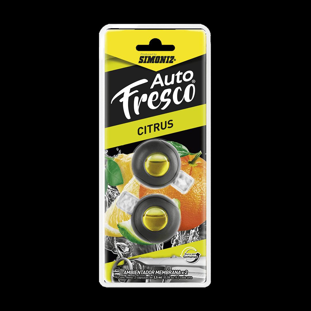 Ambientador Simoniz Autofresco Membrana 3 Ml Citrus