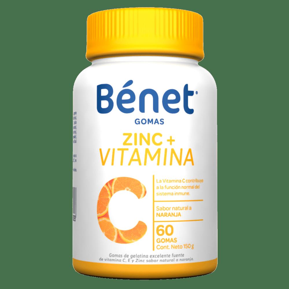 Benet Gomas Vitamina C 114 G