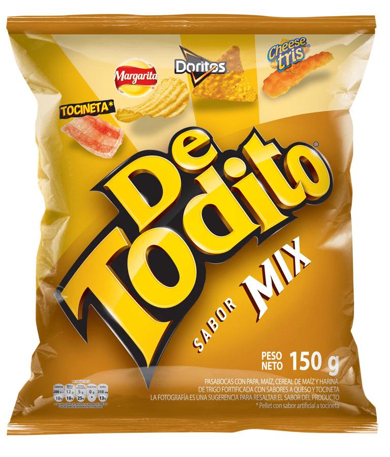 Detodito Fritolay Mix 150 G