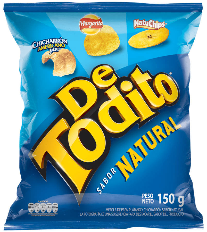 Detodito Fritolay Natural 150 G
