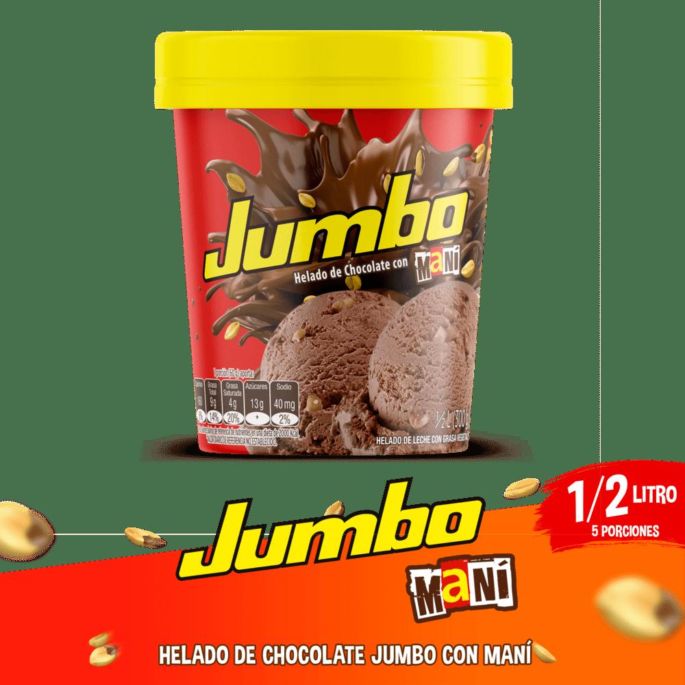 Helado Crem Helado Jumbo 1/2 Litro/300 G