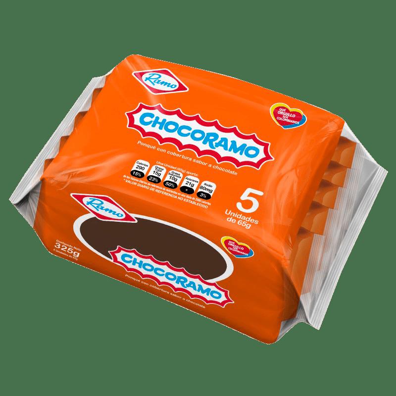 Chocoramo Tajada X 5 Und / 65 G