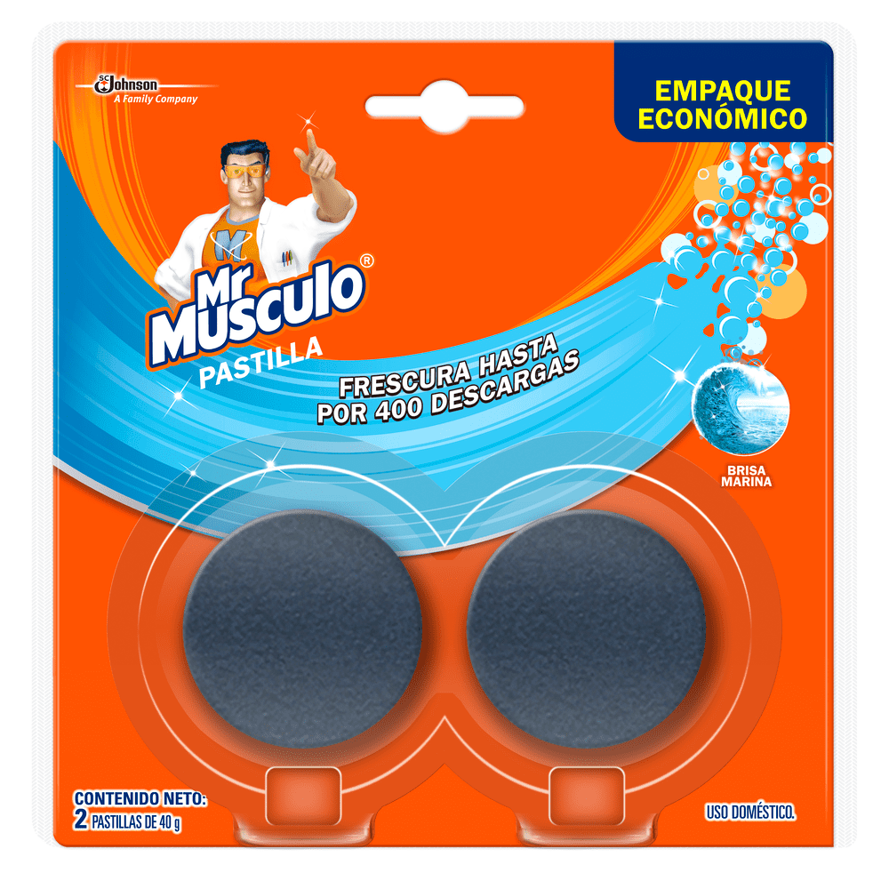 Mr Musculo Pastilla Tanque X2 Twinpack