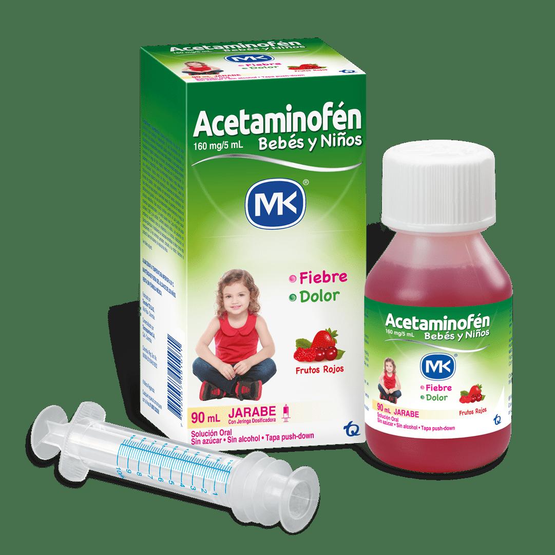 Acetaminofen Mk 160Mg 90 Ml