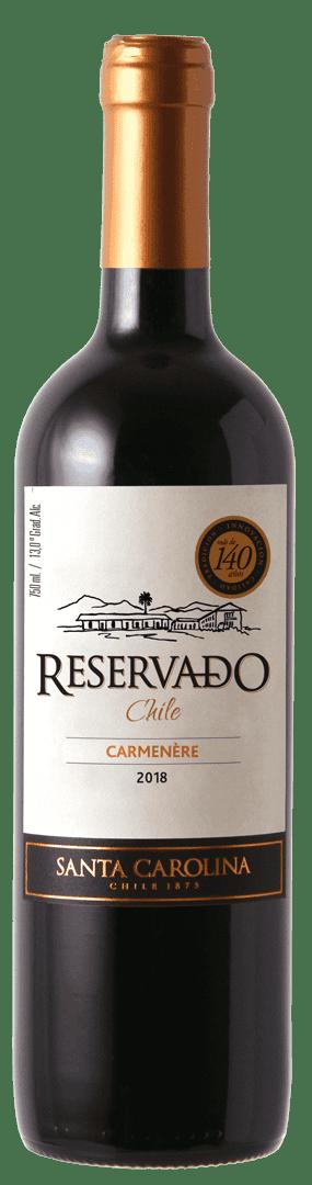 Vino Santa Carolina Reservado 750 Ml Carmenere