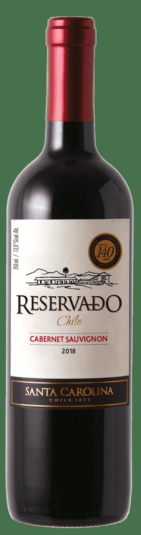 Vino Santa Carolina Reservado 750 Ml Cabernet Sauvignon