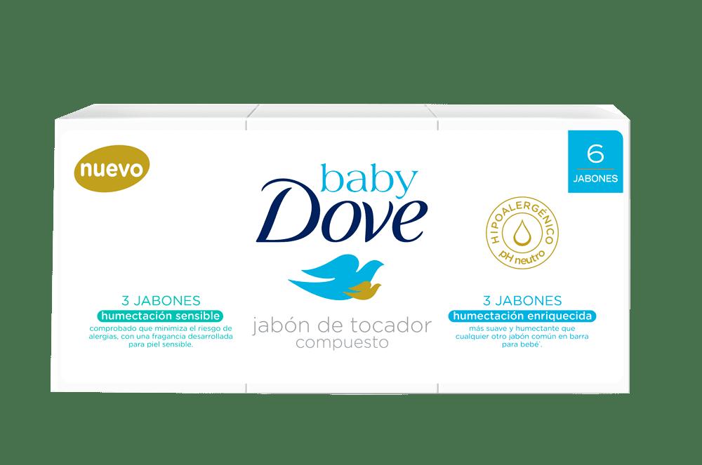 Jabón Baby Dove *6 Enriquecido-Sensitive 450 G