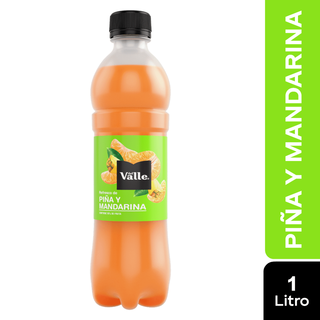 Refresco Frutal Del Valle Mandarina-Piña 1000 Ml