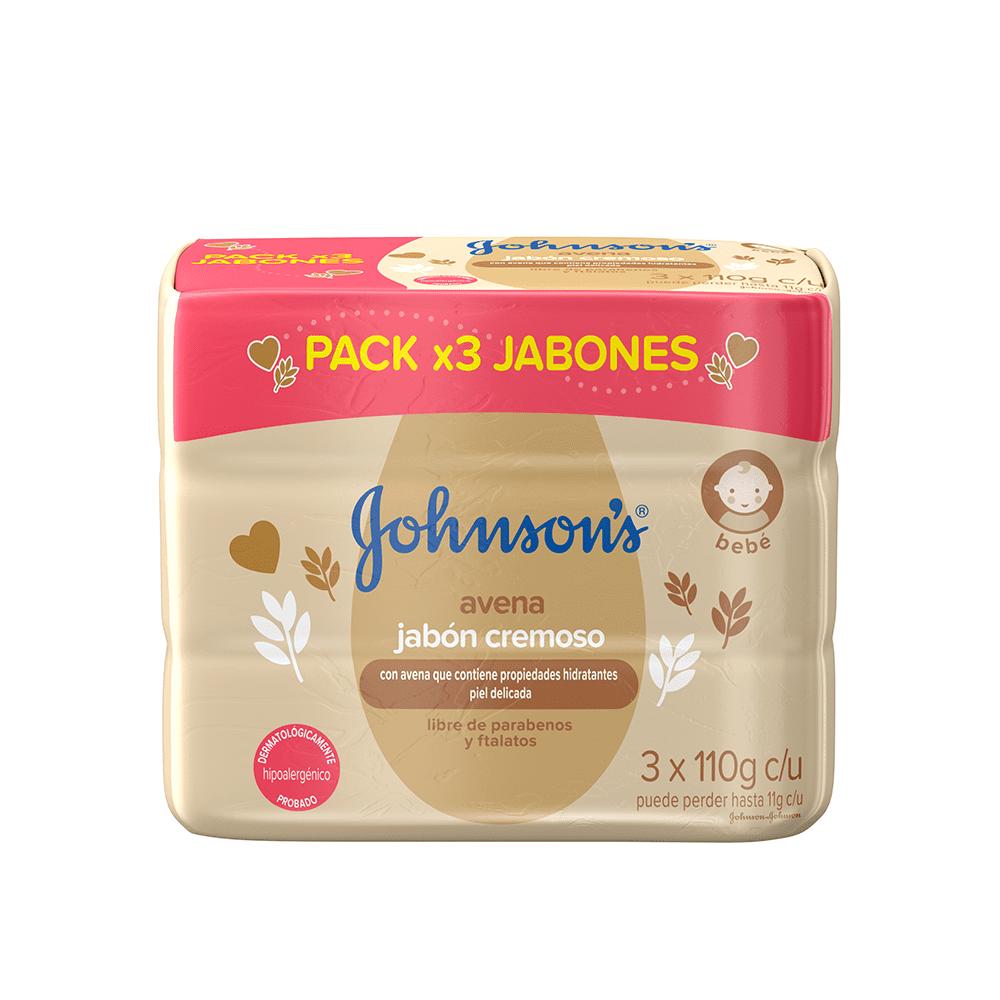 Jabon Johnson Baby 3X110 G Avena
