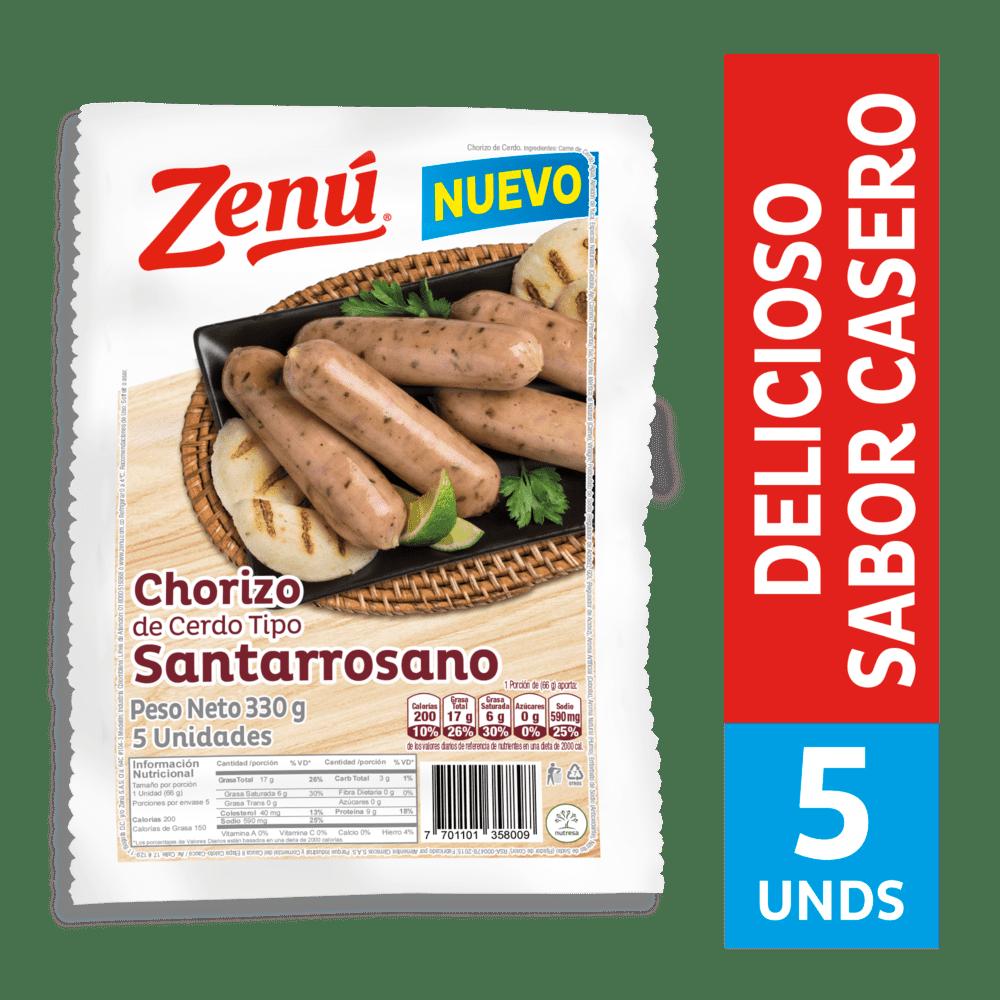 Chorizo Santarrosano Zenú 330 G