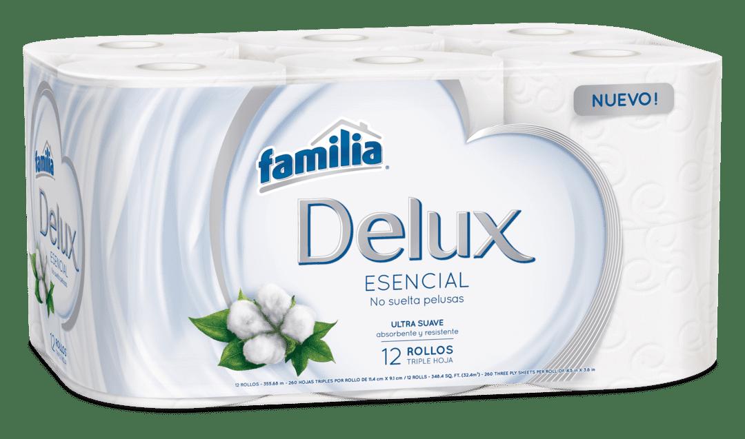 Papel Familia  Delux  X 12 Und 348 M